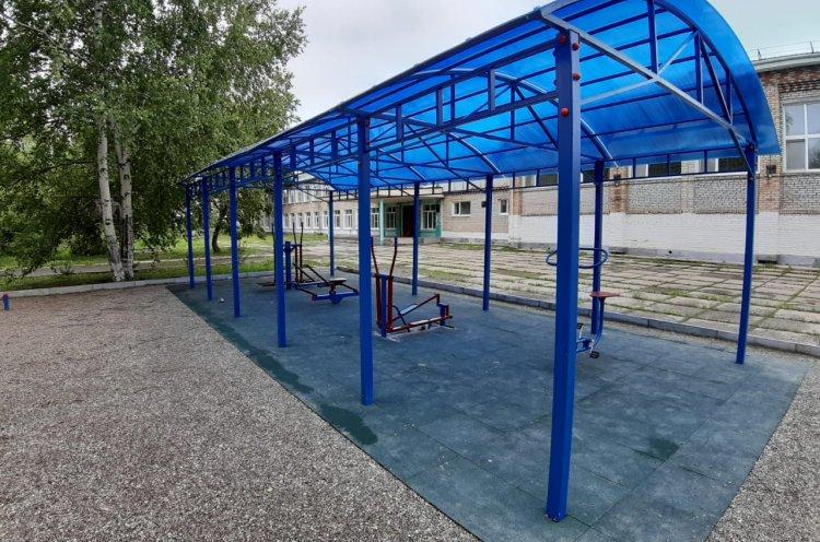 Спортплощадки четырех типов возводят в Приморье по нацпроекту
