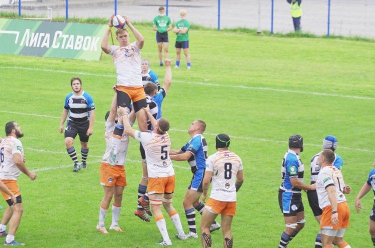 «Владивостокские тигры» одержали вторую победу в чемпионате Высшей лиги по регби