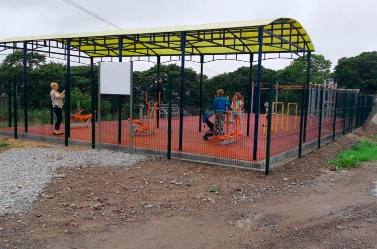 Десять новых спортплощадок появятся в Хасанском районе в этом году по нацпроекту