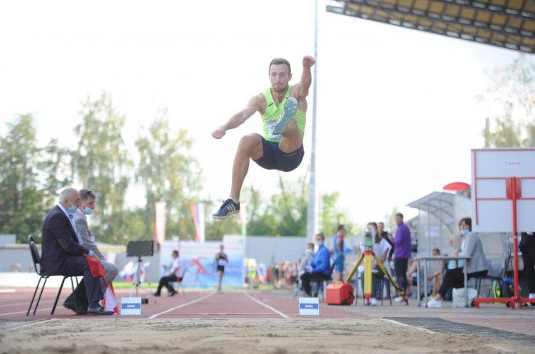 Приморские легкоатлеты приняли участие в Кубке России