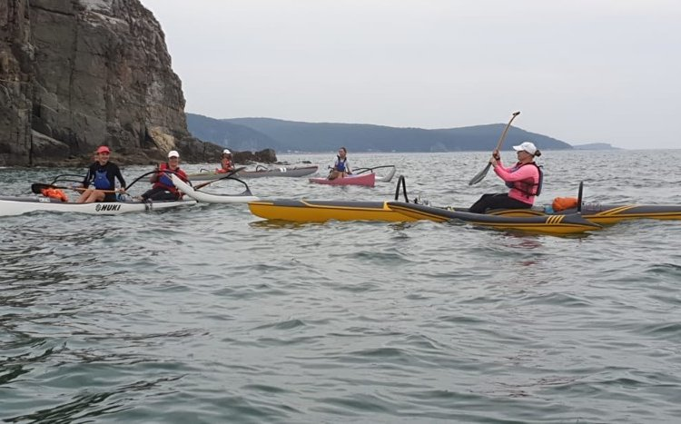 Первый женский ультрамарафон на океанических каноэ-аутригерах состоялся в Приморье