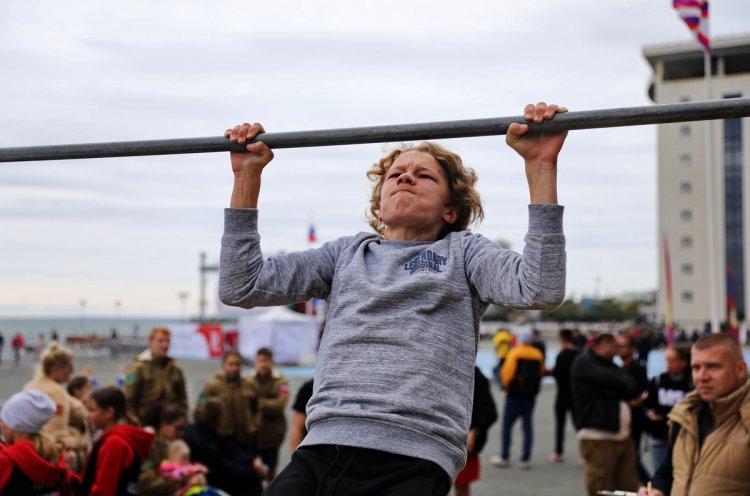 Лучшими на краевом фестивале «Сила Победы» стали школьники из Большого Камня