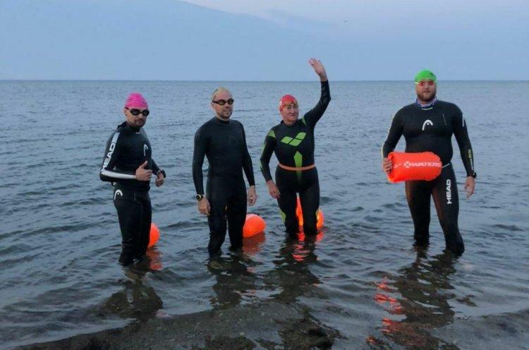 Заплыв проекта «Обними Россию» завершился в Калининграде