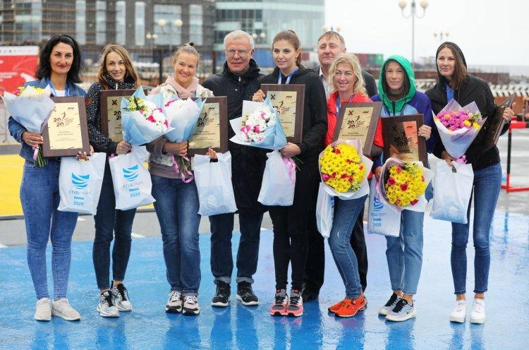Международный день студенческого спорта отметили в Приморье