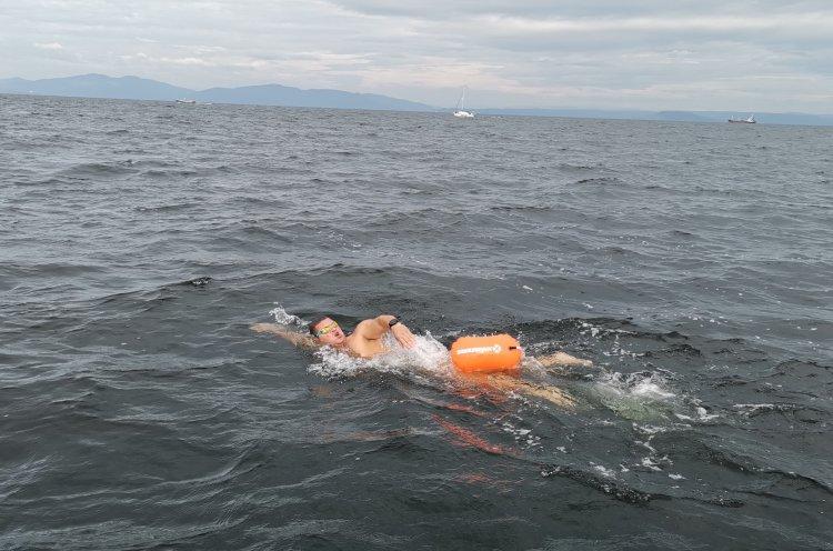 Пловцы из трех регионов преодолели «Русскую кругосветку»