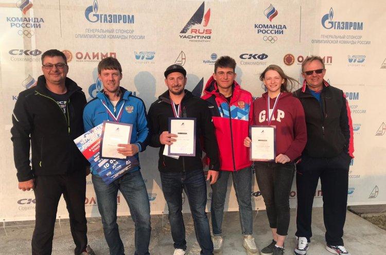 Приморские яхтсмены триумфально выступили на чемпионате России