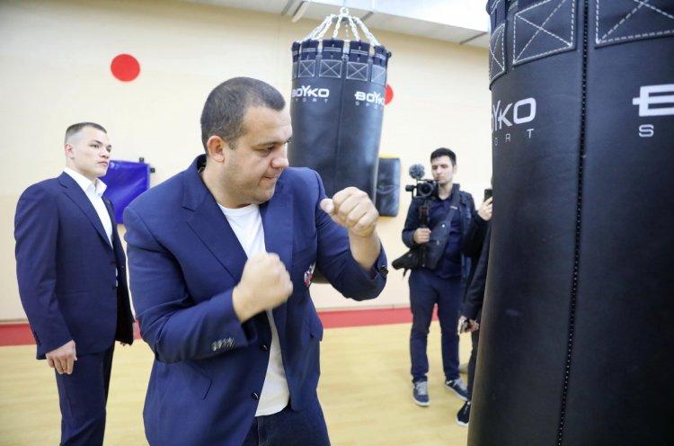 Сборная России по боксу планирует провести подготовку к Олимпиаде в спорткомплексе «Олимпиец»