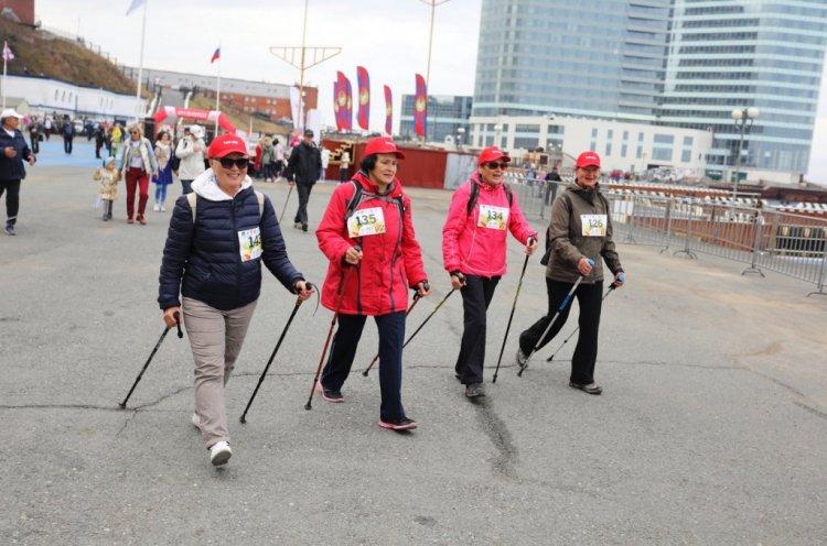 Всероссийский день ходьбы отметят во Владивостоке