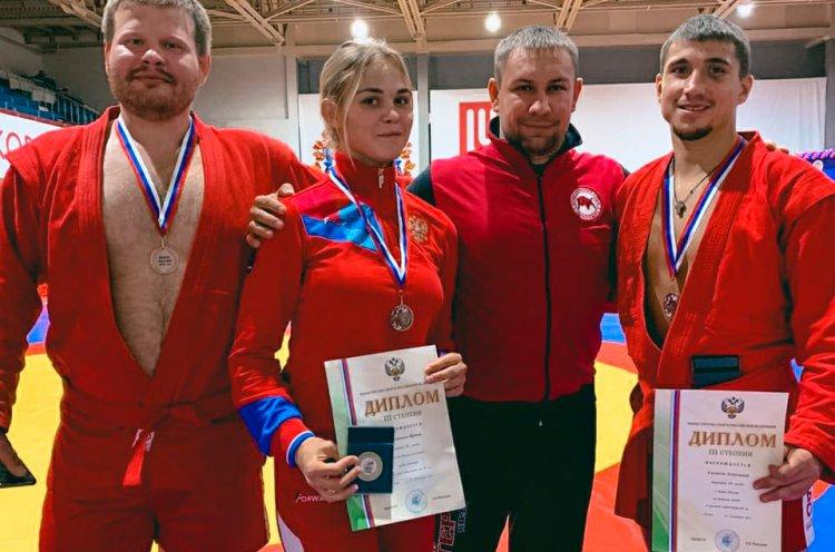 Приморские самбисты завоевали четыре медали на Кубке России