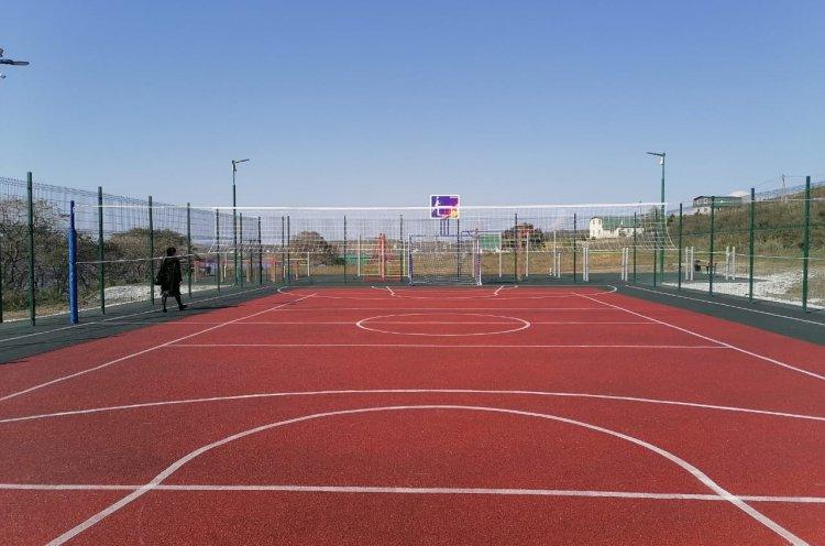 Третью спортплощадку открыли в поселке Зарубино