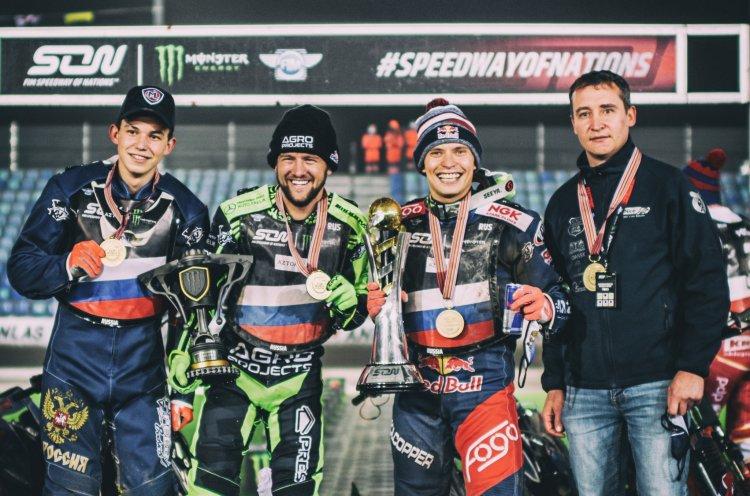 Приморец Артем Лагута в составе сборной России выиграл Speedway of Nations