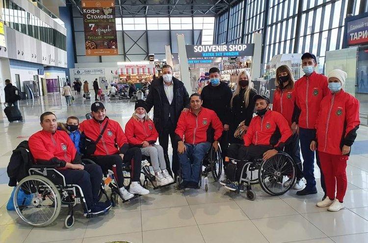 Паралимпийская команда края по регби отправилась на чемпионат России