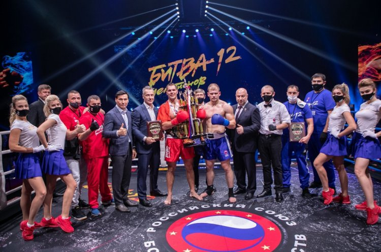 Приморец Евгений Шаломаев одержал победу в «Битве чемпионов»