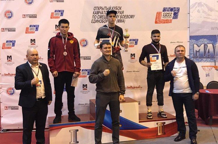 Приморцы взяли награды на Кубке Камчатского края по СБЕ ММА