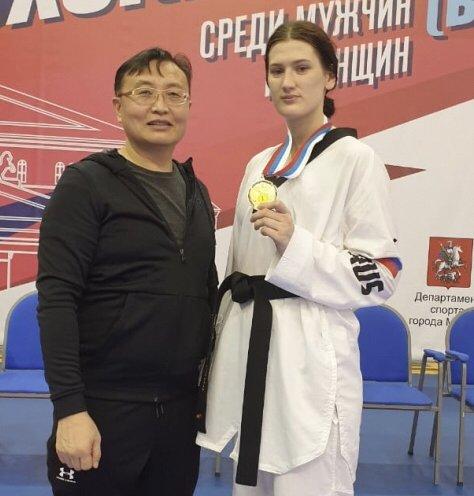 Приморская тхэквондистка стала чемпионкой России в олимпийской дисциплине