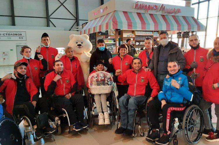 Сборная Приморья выступила на чемпионате России по регби на колясках