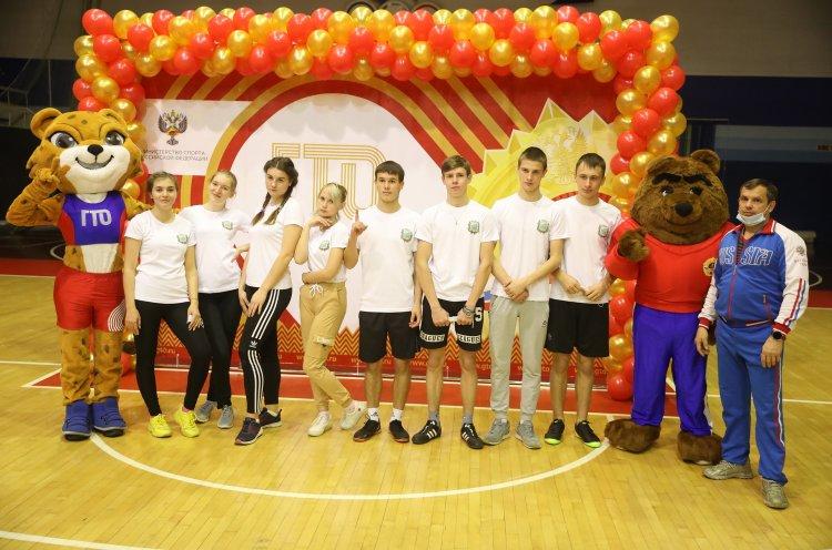 Команда колледжа из Дальнегорска стала победителем краевого фестиваля ГТО