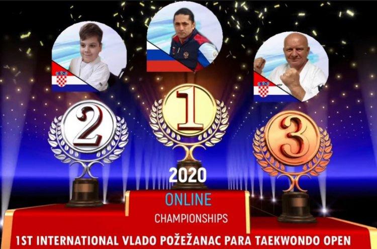 Спортсмены из Приморья завоевали золото и серебро на международном турнире по паратхэквондо