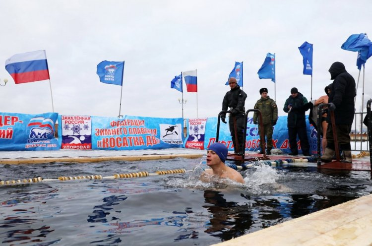 Приморье присоединится 26 декабря к всероссийской акции «Закаленная Россия – Сильная страна»