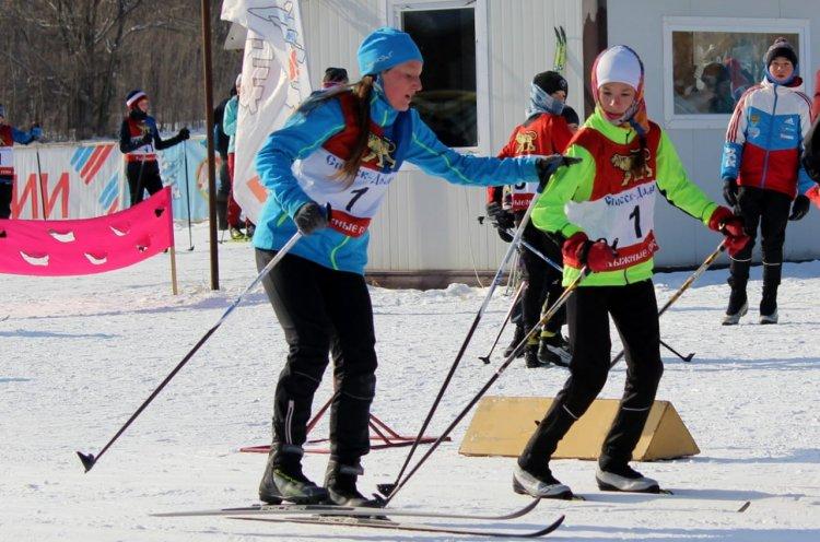Краевые соревнования по лыжным гонкам прошли в Калиновке