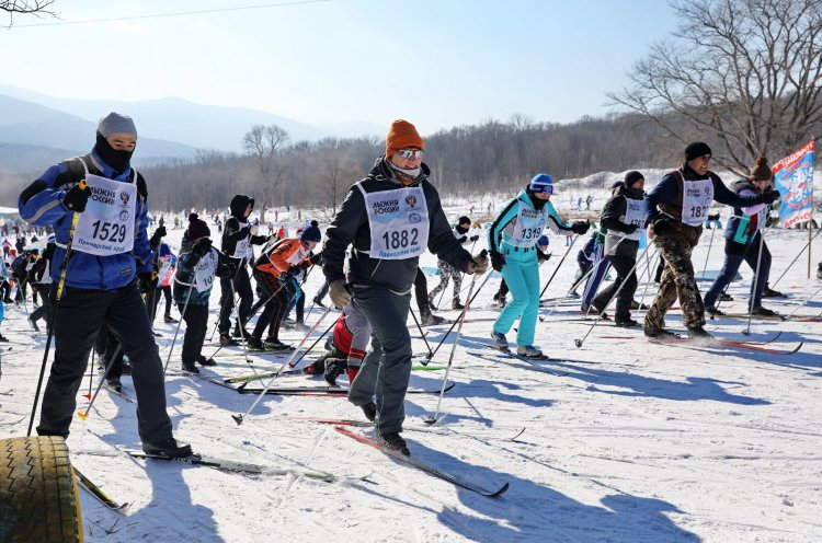В Приморье стартовал прием заявок на участие в краевой гонке «Лыжня России»