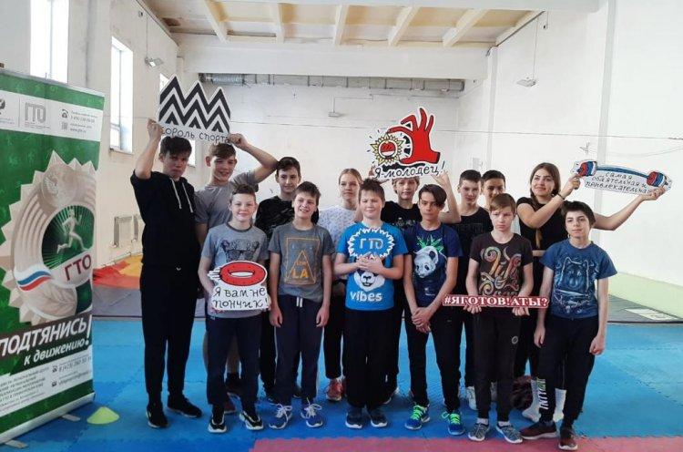 Школьники Владивостока сдают спортивные нормативы