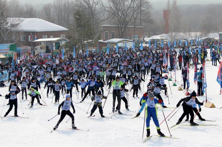 Более 8 тысяч приморцев вышли на «Лыжню России»