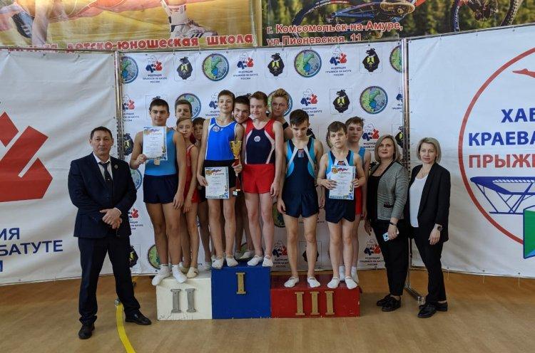 Приморские батутисты успешно выступили на чемпионате и первенстве Дальнего Востока