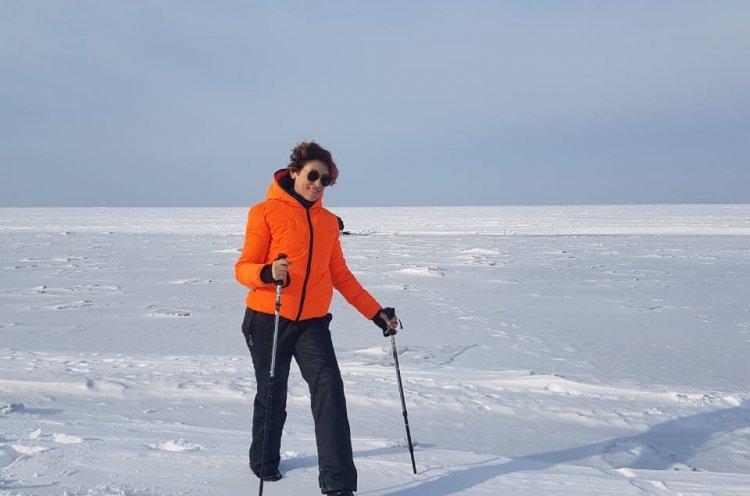 Приморская поклонница скандинавской ходьбы стала победительницей Международного зимнего фестиваля