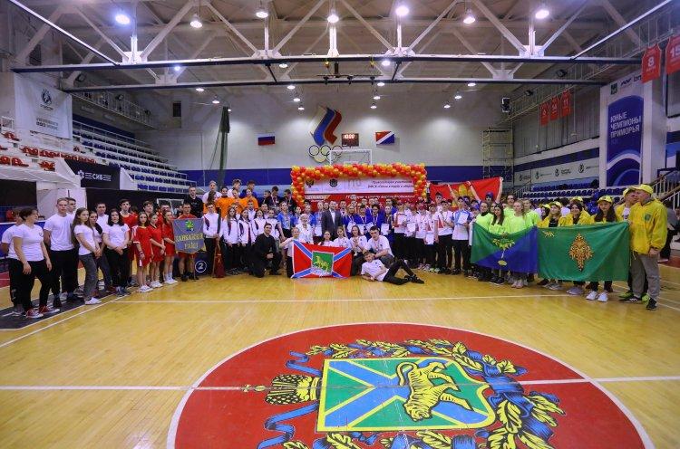 Школьники Владивостока и Партизанского района победили в краевом фестивале ГТО