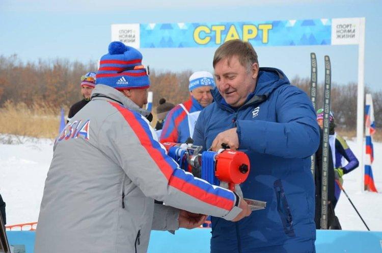 «Лыжня России» прошла в селе Дмитриевка Черниговского района