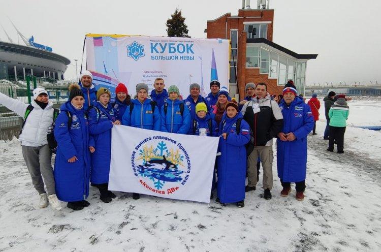 Приморские «моржи» выиграли 116 медалей на Кубке «Большой Невы»