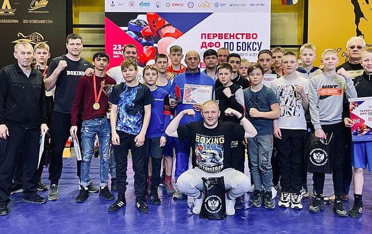 Юные приморские боксеры отличились на первенстве Дальнего Востока