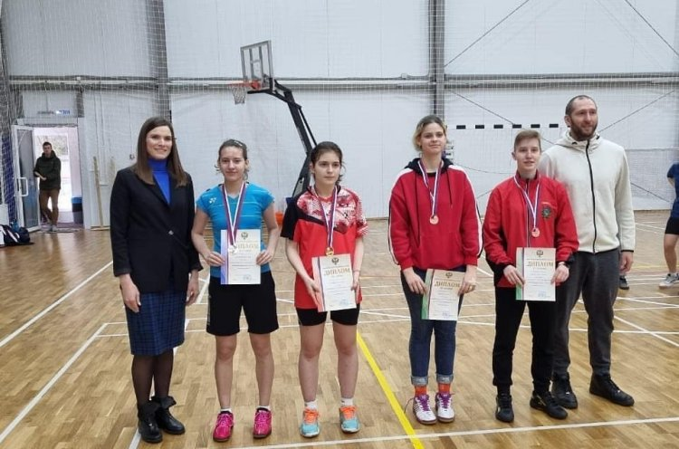 Приморская спортсменка стала двукратным призером бадминтонного первенства России по спорту глухих