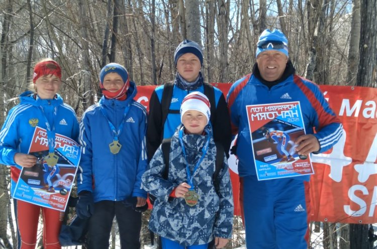 Юные приморцы пробежали марафон «Мяо-Чан»