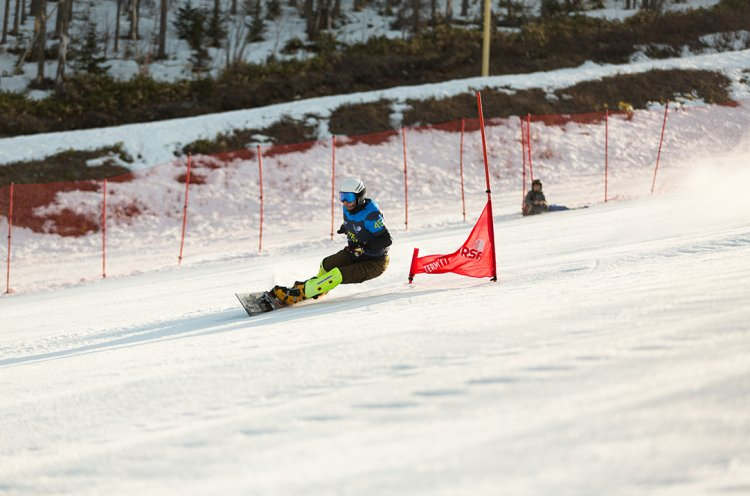 Приморцы впервые приняли участие в чемпионате России по сноуборду