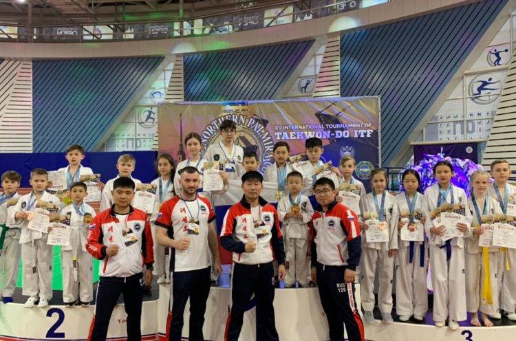 Приморцы привезли 25 золотых медалей с Всероссийских соревнований по тхэквондо