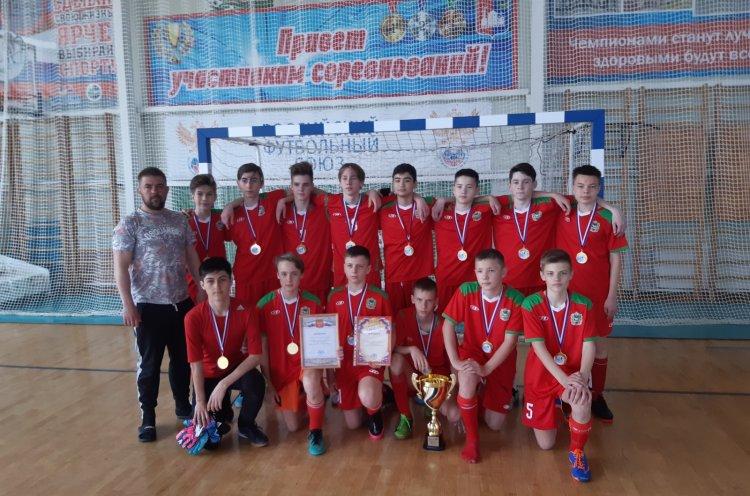 В Приморье определили обладателя Кубка края по мини-футболу среди юношей
