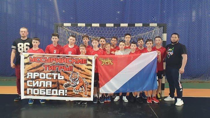 Приморские юноши заработали путевку в финал всероссийских соревнований по гандболу