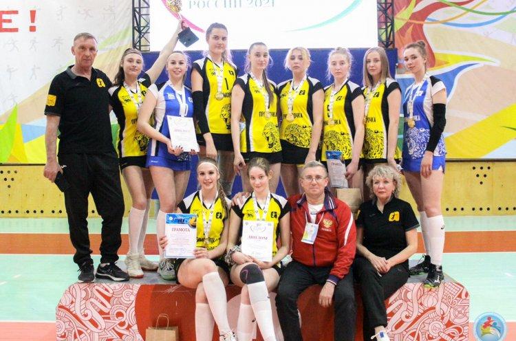 Приморские волейболистки отобрались на финал V летней Спартакиады молодежи России