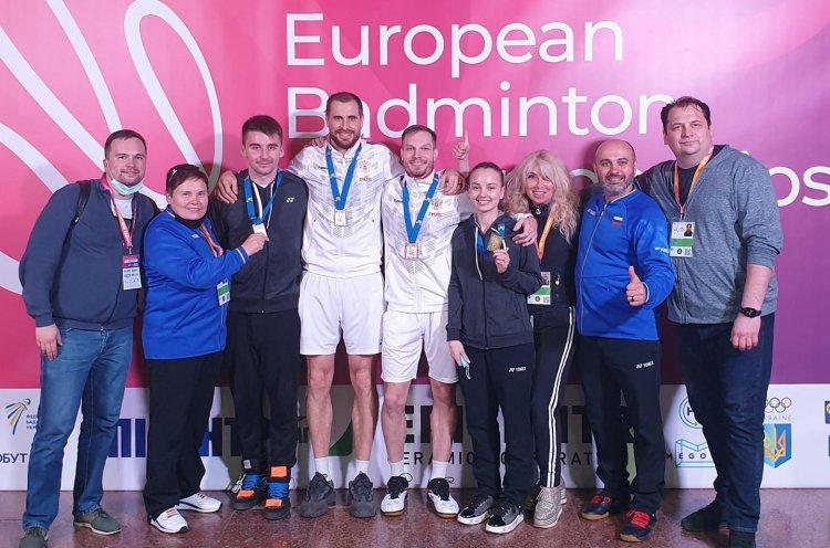 Приморские бадминтонисты завоевали «золото» на чемпионате Европы