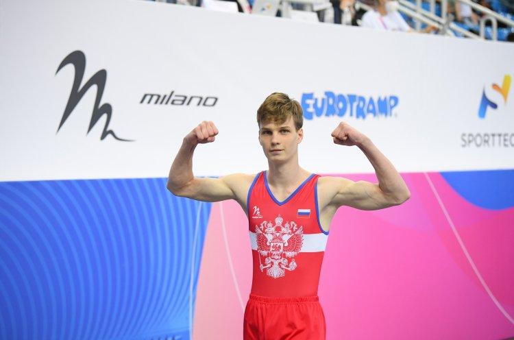 Приморец Александр Бутько завоевал «золото» на первенстве Европы по прыжкам на батуте