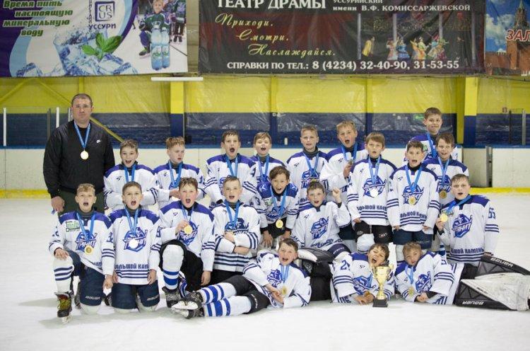 «Гранит-2010» – победить четвертой группы Юношеской хоккейной лиги Приморья