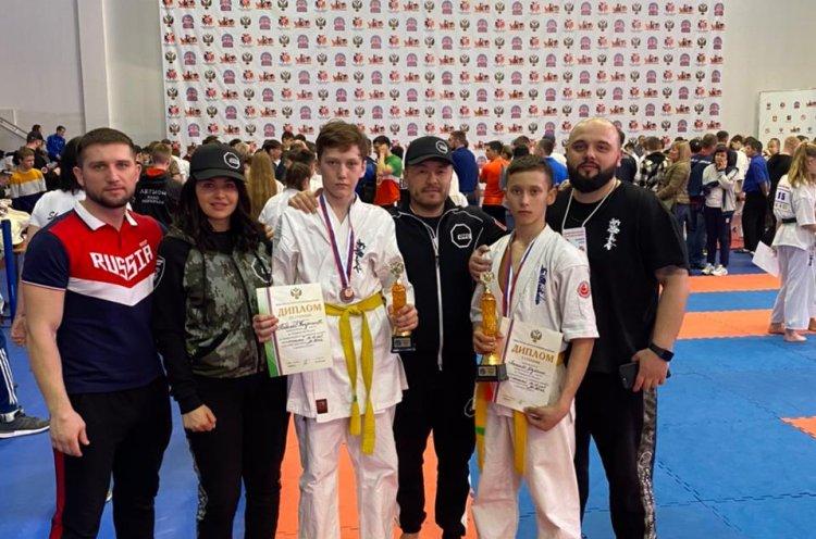 Две медали завоевали приморцы на первенстве Росси по киокусинкай
