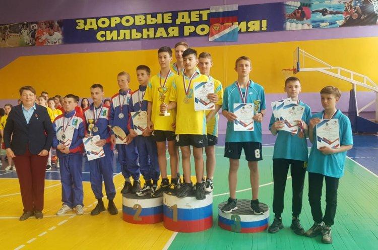 Школьники Черниговки выиграли путевку на финал Президентских спортивных игр в Анапе