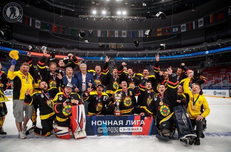 Приморские хоккеисты выиграли «золото» и «бронзу» Всероссийского фестиваля «Ночная хоккейная лига»