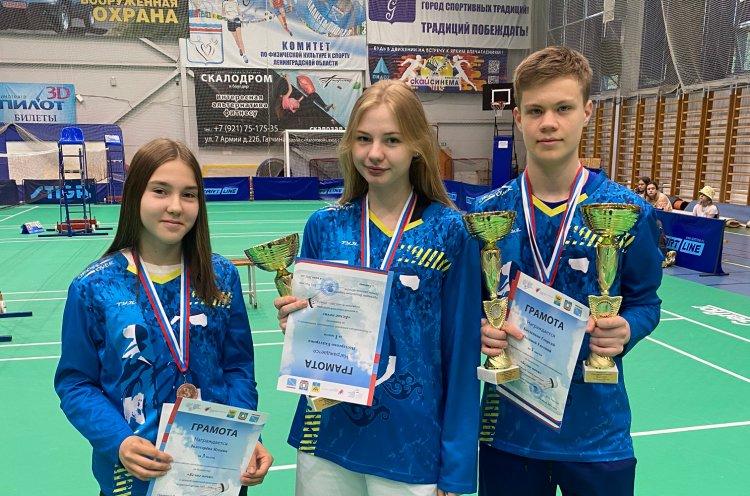 Четыре медали завоевали юные приморские бадминтонисты на всероссийском турнире
