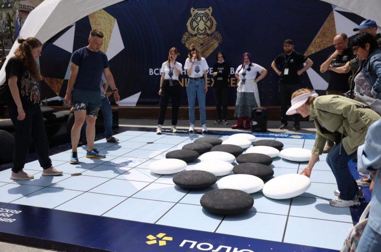 Фестиваль Го Genius Extreme объединил интеллектуалов и экстремалов в столице Приморья