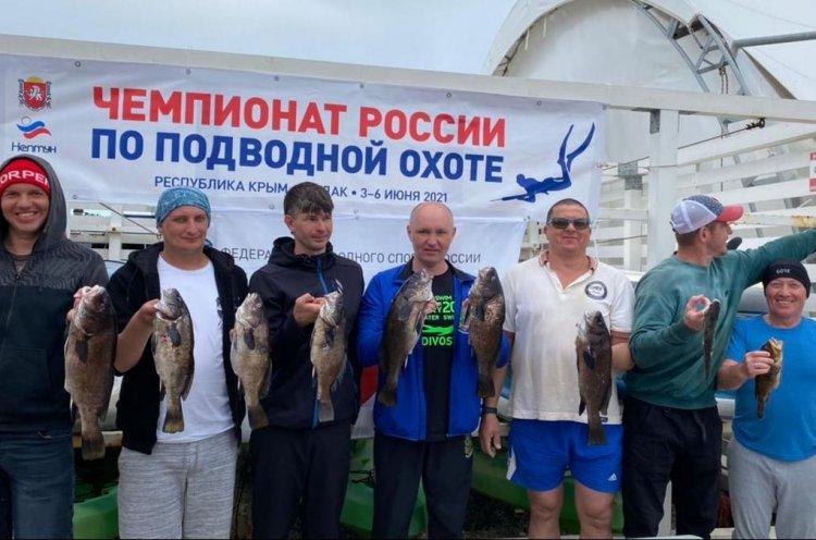 Приморский спортсмен стал чемпионом России по подводной охоте