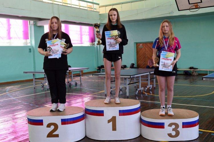 Кубок Приморского края по настольному теннису разыграли в Арсеньеве